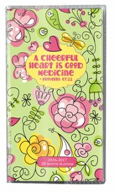A Cheerful Heart, 2016-2017 Pocket Planner
