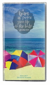 Heart at Peace, 2016-17 Pocket Planner