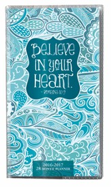 Believe In Your Heart, 2016-17 Pocket Planner