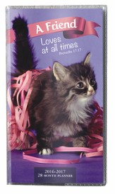 A Friend Loves At All Times, 2016-17 Pocket Planner
