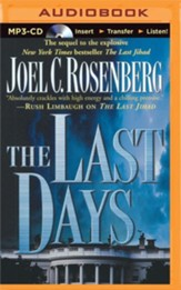 The Last Days - unabridged audiobook on MP3-CD