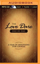 The Love Dare Day by Day: A Year of Devotions for Couples -  Unabridged Audiobook on CD