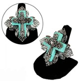 Stretch Cross Rings