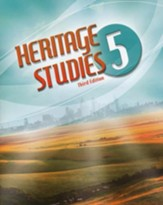 BJU Heritage Studies Grade 5 Student Text, Third Edition
