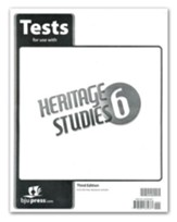 BJU Heritage Studies Grade 6 Test Pack (Third Edition)