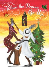 When the Praises Go Up Christmas Cards, African American, 15 Cards