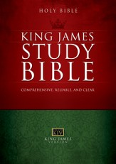 The King James Study Bible - eBook
