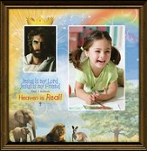 Heaven is Real Framed Print