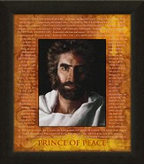 Prince of Peace Framed Art