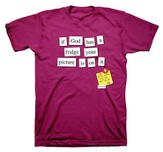 If God Had a Fridge Shirt, Magenta, XX Large
