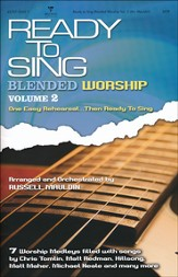 Ready to Sing Blended Worship, Volume 2 - Choral Book  - Slightly Imperfect