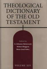 Theological Dictionary of the Old Testament, Volume 14