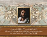 Prince Of Peace, I Am the Light Of the World, Mini Framed Art