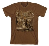 As the Deer II Shirt, Brown, Extra Large