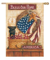 Bless Our Home Flag, Large