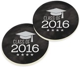 Class of 2016 Graduation Card Coasters, Set of 2