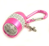 Flashlight, Cross, Bling, Pink