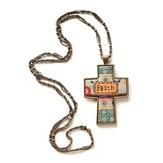 Faith Cross Necklace, Large