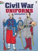 Civil War Uniforms Coloring Book