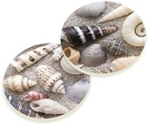 Sea Shell Car Coasters, Set of 2