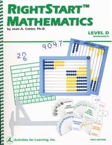 Rightstart Mathematics Level D Worksheets, 1st Edition