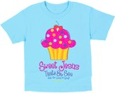 Sweet Cupcake Shirt, Blue, Toddler 5