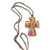 Love Cross Necklace, Large