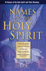 Names of the Holy Spirit, Pamphlet - eBook
