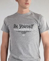 Be Yourself Shirt, Gray, XX-Large