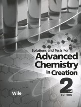 Advanced Chemistry in Creation 2nd Edition  Solutions Manual