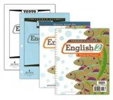 BJU English Grade 2 Homeschool Kit