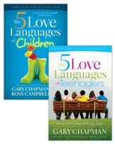 The 5 Love Languages of Children/The 5 Love Languages of Teenagers Set - eBook