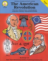 The American Revolution;  Social Studies Activity Book Gr 5-8+