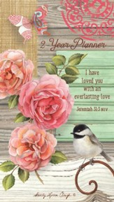 Everlasting Love, 2017/2018 Two-Year Pocket Planner