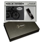 Ride In Triumph Gift set, Wallet and Flashlight
