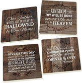 The Lord's Prayer Coasters, Set of 4