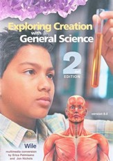 Exploring Creation with General Science Full CDROM, 2nd Ed, V 9.0