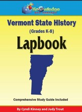 Vermont State History Lapbook - PDF Download [Download]