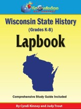 Wisconsin State History Lapbook - PDF Download [Download]