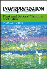 First and Second Timothy and Titus: Interpretation Commentary - Slightly Imperfect