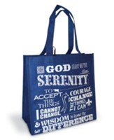 Serenity Prayer Eco Tote
