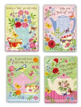 Get Well, Tea and Coffee Cards, Box of 12