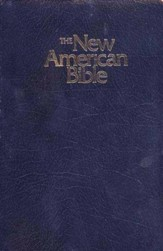 NABRE Gift & Award Bible--Imitation Leather, Blue