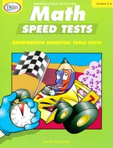 Math Speed Tests, Grades 3-6