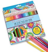 Bible Journaling, Colored Pencils, Pack of 24
