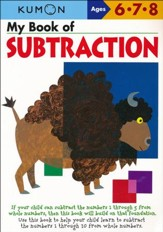 Kumon My Book of Subtraction, Ages 6-8