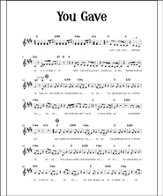 Downloadable Sing & Play Rock Vocal Lead Sheets with Chords - PDF Download [Download]