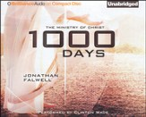 1000 Days: The Ministry of Christ Unabridged Audiobook on CD