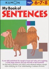 Kumon My Book of Sentences, Ages 6-8