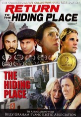 40th Anniversary Commemorative Dual Disc Set of The  Hiding Place and Return to the Hiding Place